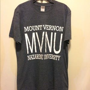 Mount Vernon University Gray T-Shirt M